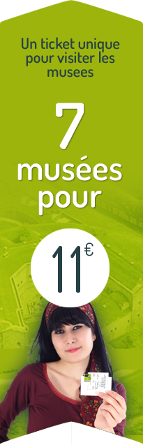 7 musees = 11€
