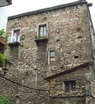 Morrontxo Medieval Tower House in Errenteria