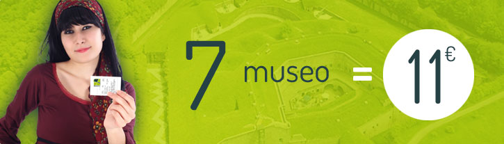 7 museo = 11€